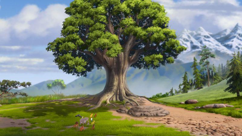L'arbre de vie et sa signification familiale